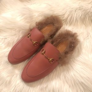 ✅available✅Gucci Princetown leather slipper